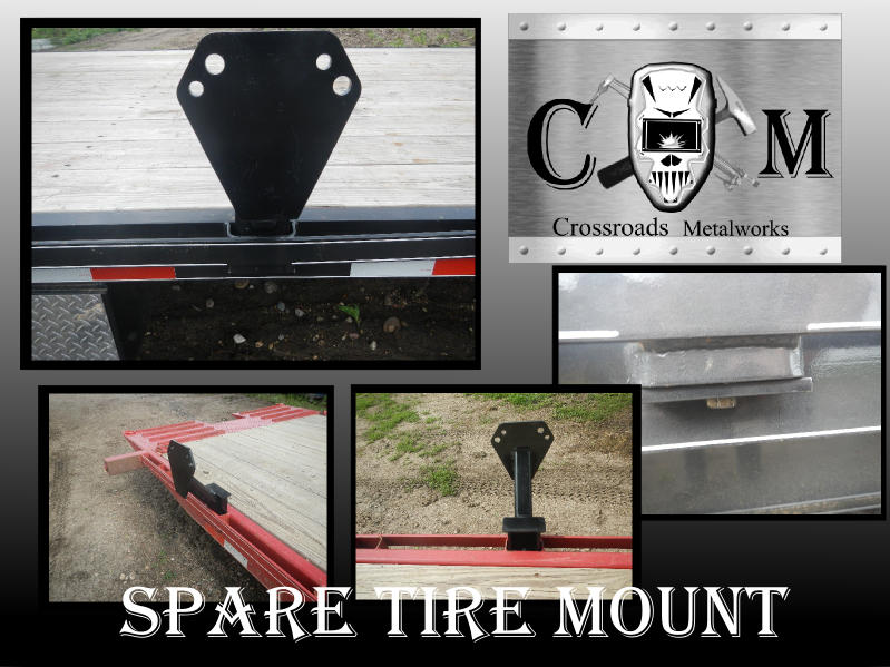 Stake Pocket spare tire mount