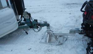 ATV tow Ski 2