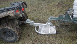 ATV tow Ski